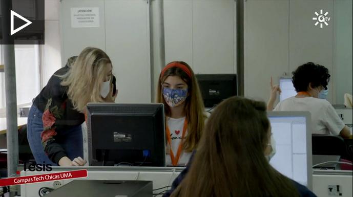 Campus Tech Chicas en Canal Sur